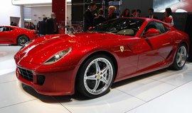 Ferrari 599 GTB Fiorano na autosalonu