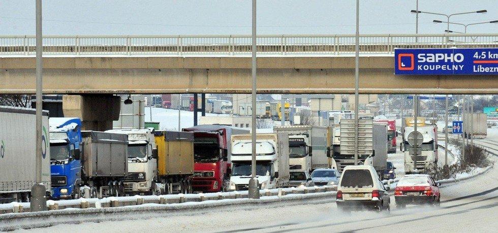 Praha schválila dokumentaci pro omezení kamionů, ilustrační foto