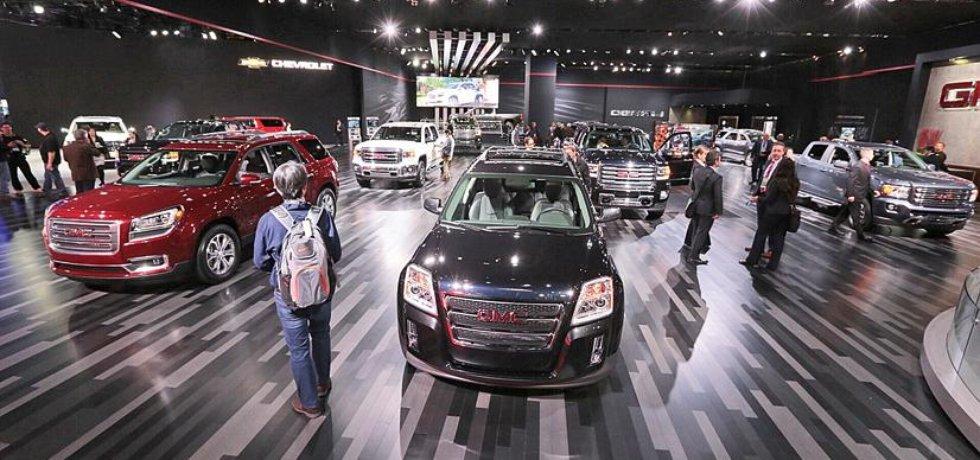 Detroitský autosalon