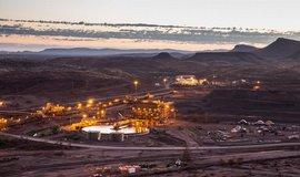 Těžba železné rudy v Austrálii