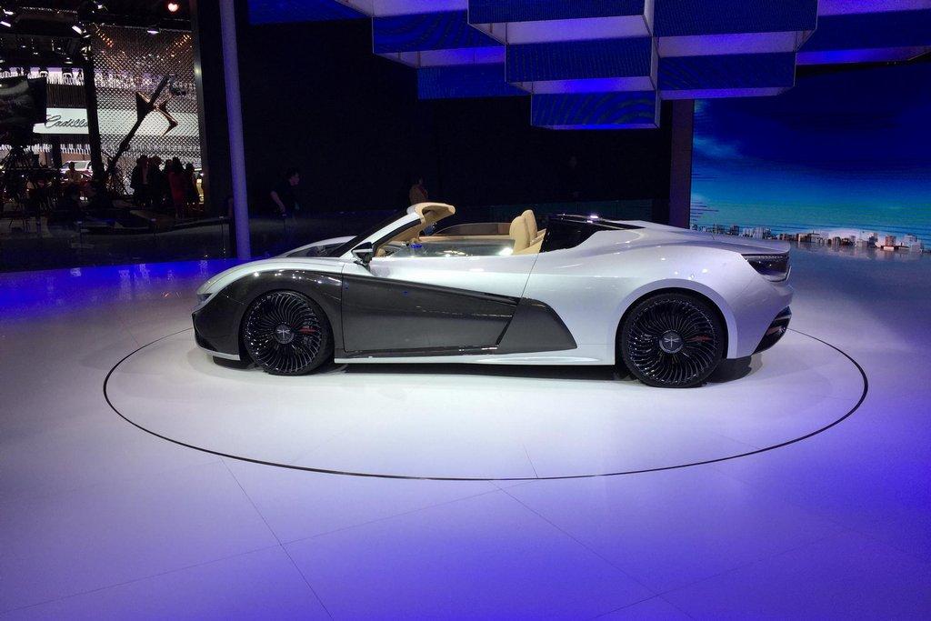 Nejnovější model téměř neznámé automobilky Giantu Motor. Každopádně potvrzuje, že čínští výrobci mají velké sebevědomí.