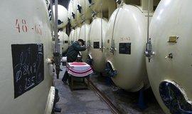 Sklad piva budějovického Budvaru. Pivovar se údajně dostal na hranici svých kapacit a plánuje nové logistické centrum.