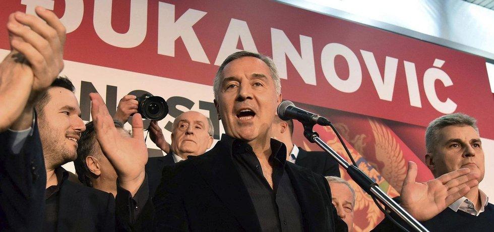 Milo Djukanović je jasným vítězem prezidentských voleb v Černé Hoře