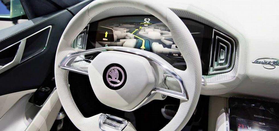 Studie velké SUV Škoda VisionS