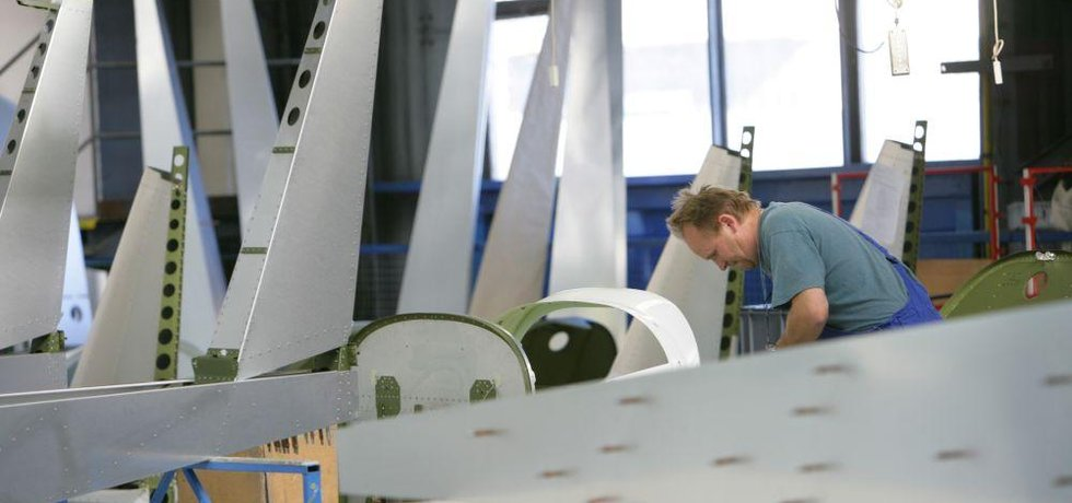 Letadla a letecké součástky z Česka jsou ve světě vyhlášené, ilustrační foto