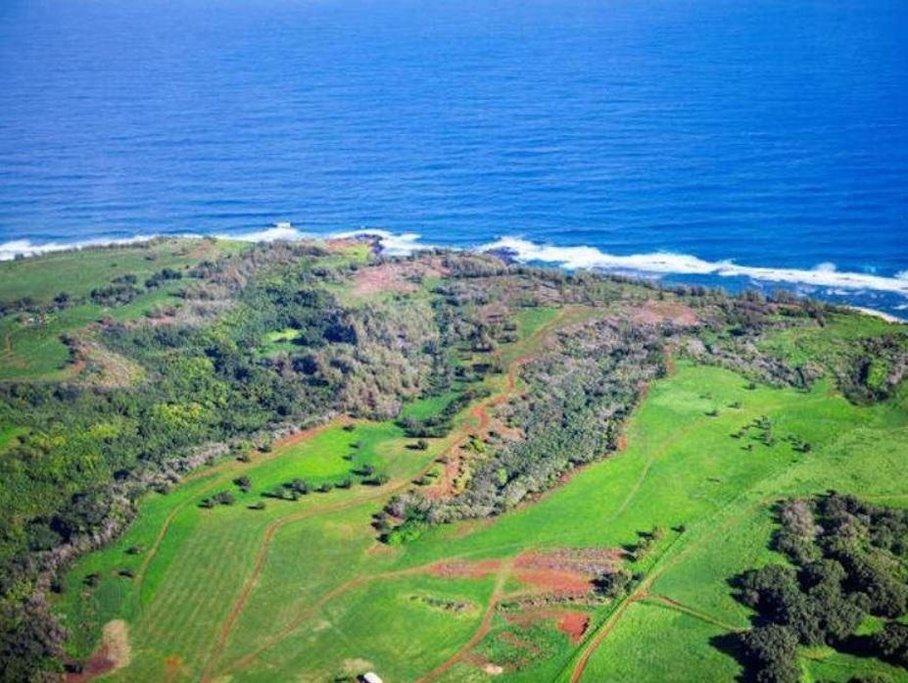 Zuckerbergova investice na Havaji. Kahu`aina Plantation.