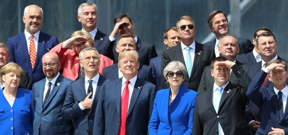 Summit NATO v Bruselu 11. 7. 2018