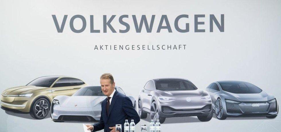 Šéf VW Herbert Diess