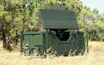 Radar izraelské firmy Elta, ilustrační foto