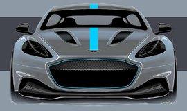 Studie elektrického modelu Aston Martin