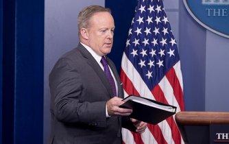 Končící mluvčí Bílého domu Sean Spicer
