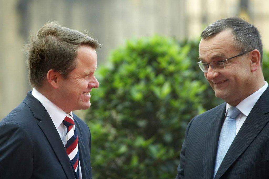 Martin Bursík a Miroslav Kalousek (foto z roku 2009)