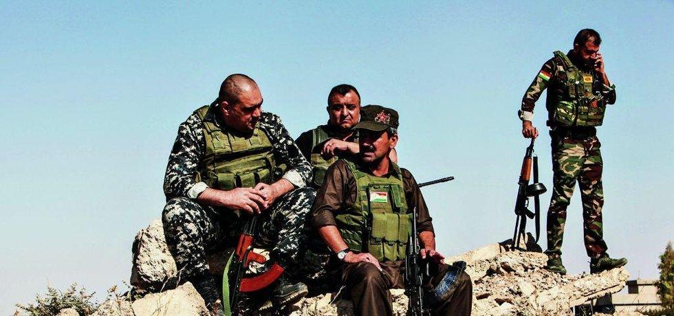 Pešmergové vybojovali řadu bitev i díky zbraním a munici z Česka