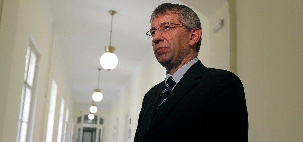Exministr Jaromír Drábek