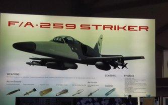 F/A-259 Striker českého výrobce Aero Vodochody