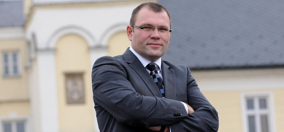 Karvinský primátor Tomáš Hanzel (ČSSD)