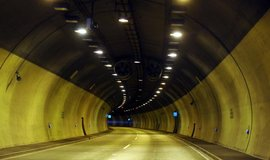 Dálnice D8, tunel Libouchec
