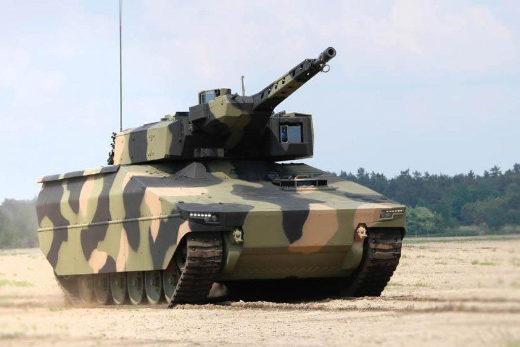Lynx KF31 je vyráběn v Neměcku