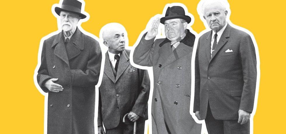 Bývalí prezidenti Československa