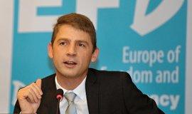 Europoslanec a předseda Svobodných Petr Mach