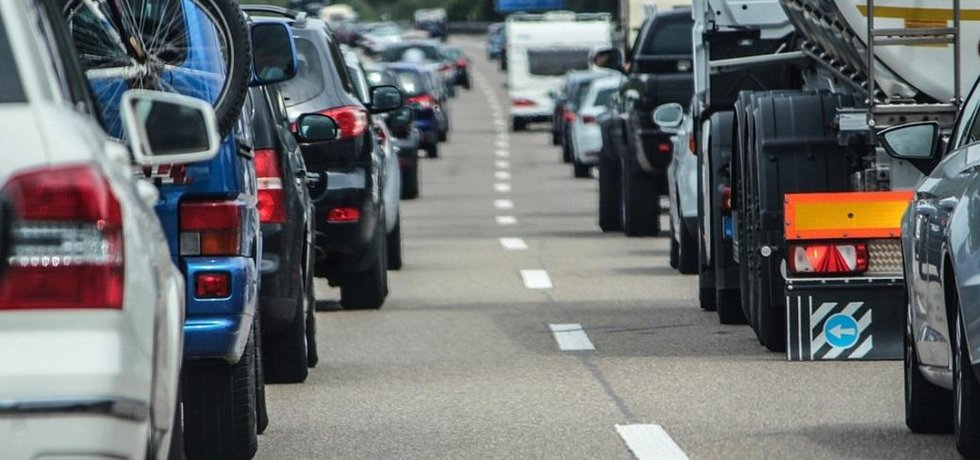 Z německé dálnice se stalo místo pro otrlé řidiče.