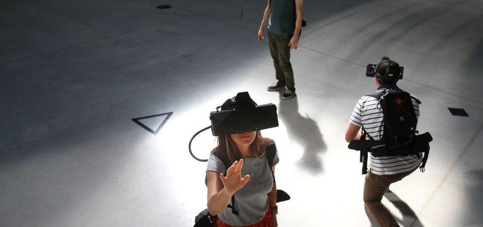 Virtuální realita, ilustrační foto
