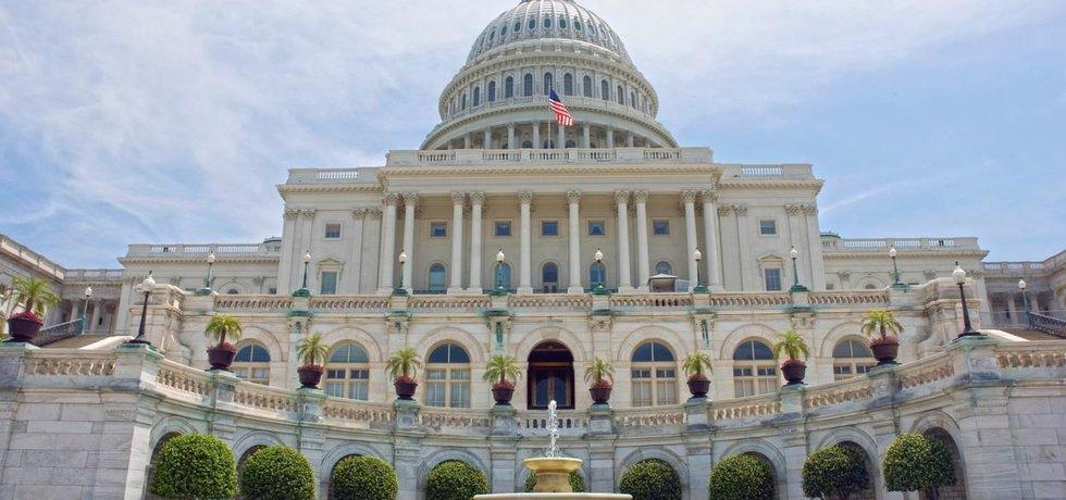 Budova amerického kongresu
