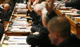 Hlasování v Senátu, ilustrační foto