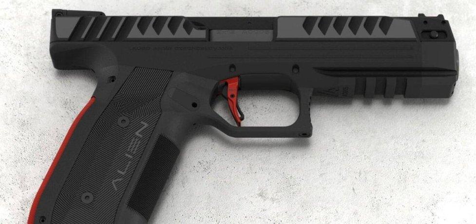 Pistole Alien od Laugo Arms Czechoslovakia, ilustrační foto