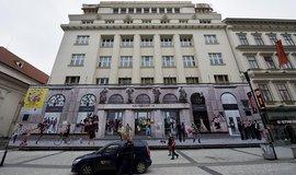 Investiční společnost Immofinanz je stoprocentním vlastníkem pražského paláce Na Příkopě (foto z března 2013)