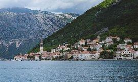 Vesnice Perast v Kotorské zátoce