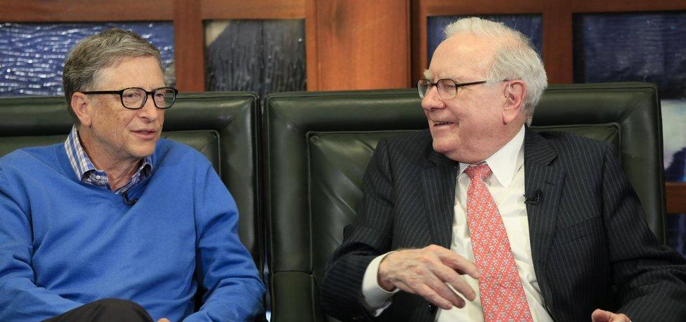 Warren Buffett a Bill Gates