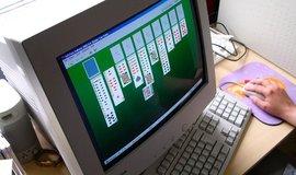 Solitaire na počítači