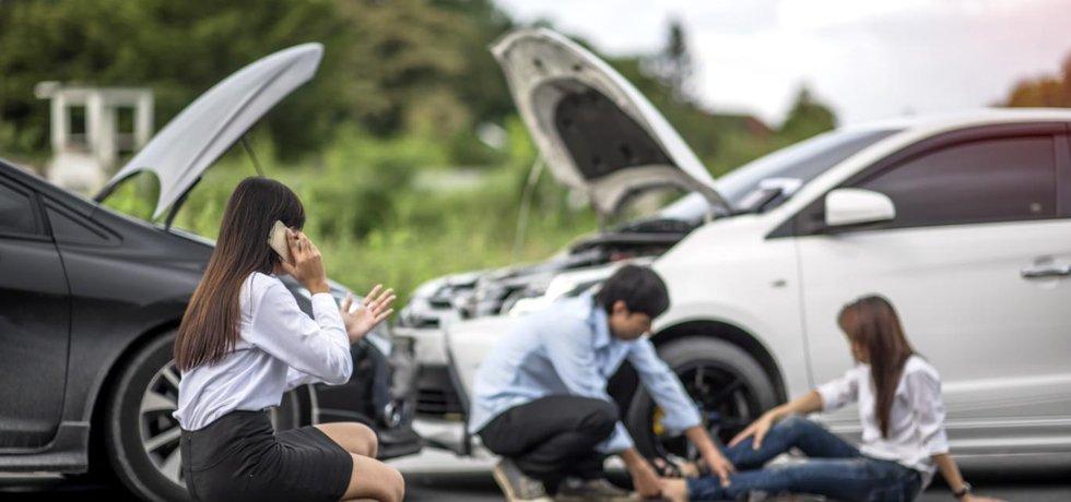 Odškodnění při dopravní nehodě