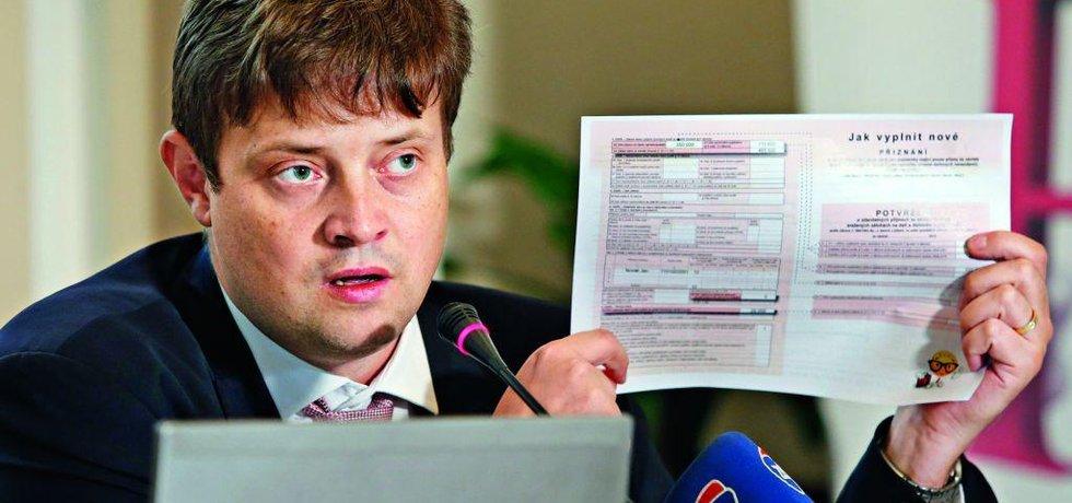 Šéf Finanční správy Martin Janeček