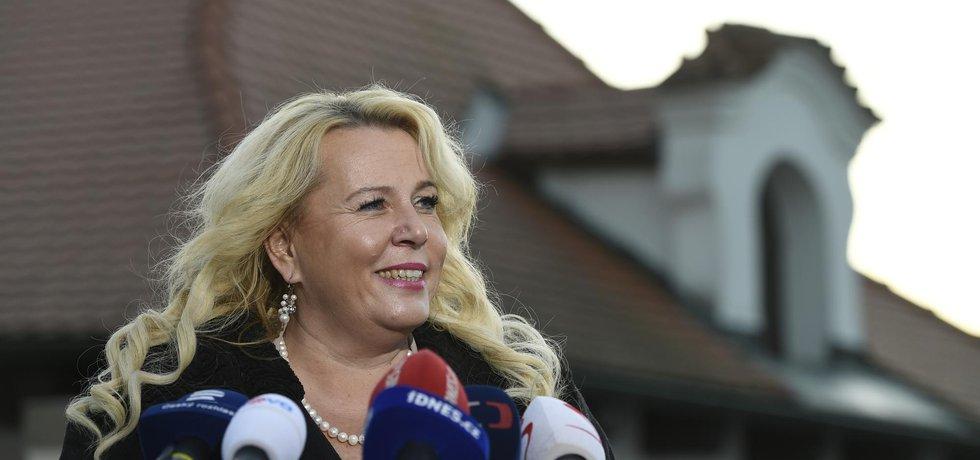 Kandidátka na ministryni Klára Dostálová (ANO)
