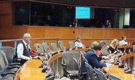 Sanátor Tomáš Pfeiffer na Mezinárodní konferenci CAM v Evropského parlamentu 16. října 2017