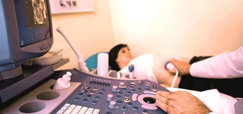 *těhotenství, ultrazvuk, těhotná, gynekologie