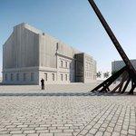Vizualizace Památníku ticha v Bubnech
