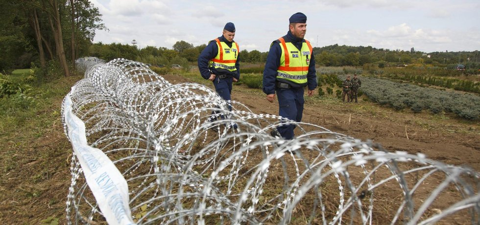 Plot na maďarských hranicích, ilustrační foto
