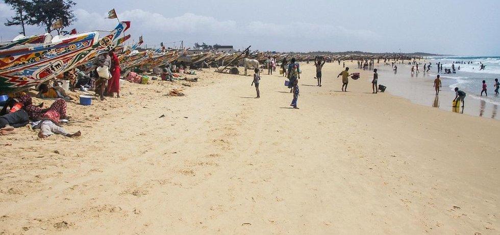Město Kayar leží 60 kilometrů severně od Dakaru.