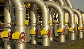 Nový plynovod povede až na drobné výjimky souběžně s plynovodem Gazela, ilustrační foto