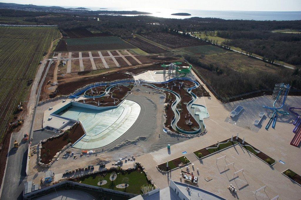 Vodní svět Aquacolors v chorvatském městě Poreč
