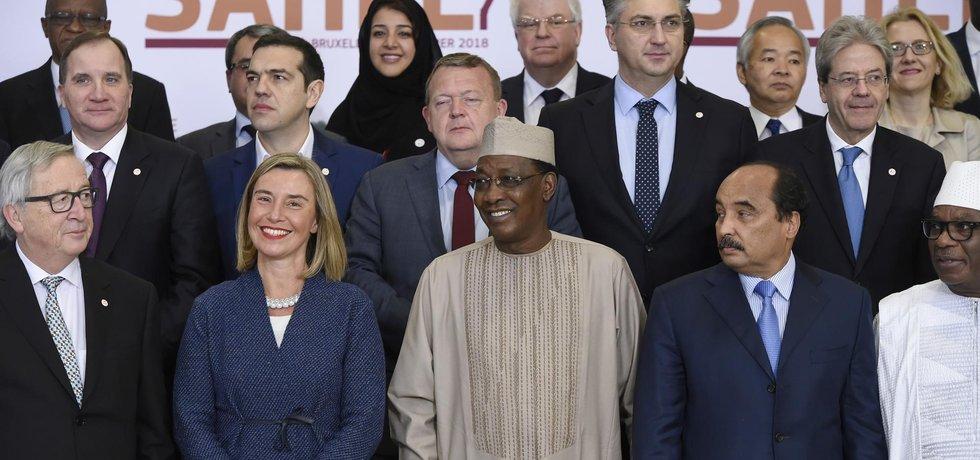 Šéfka evropské diplomacie Federica Mogheriniová po jednání zástupců EU, Africké unie, OSN a dalších partnerů, jako jsou Kanada, Japonsko či Spojené státy