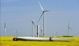 Rumunský větrný park ČEZ Fantanele Cogealac, který má výkon 600 megawattů.