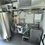 Kontejnerový pivovar Smart Brewery vyniká tím, že jej lze snadno přemísťovat