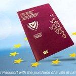 Kyperský pas za dva miliony eur.