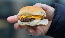 Veggie burger - ilustrační foto