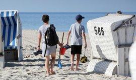 Pláž na ostrově Sylt, ilustrační foto