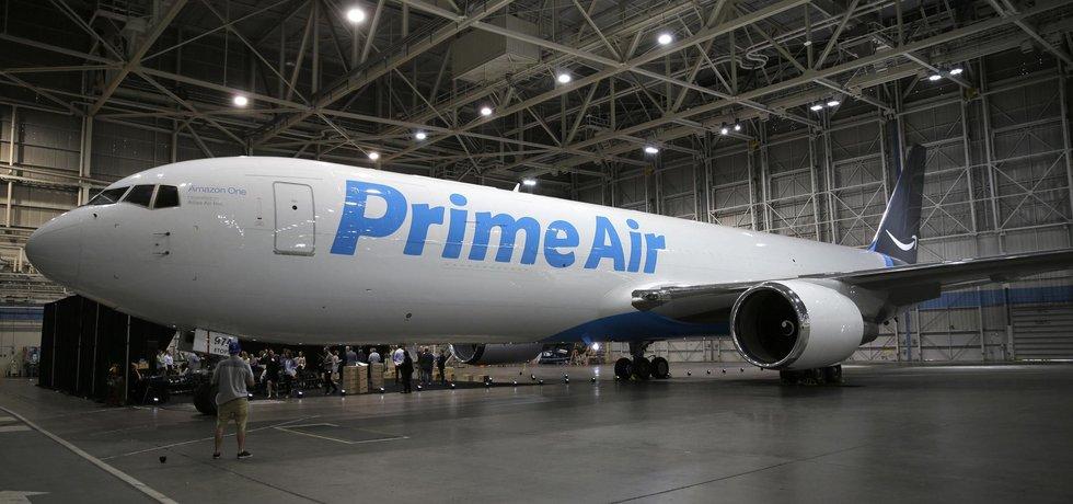 Nákladní letadlo Prime Air společnosti Amazon (Zdroj: ČTK)
